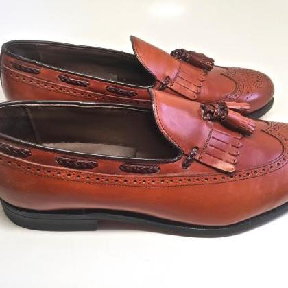 Handmade Mens Classics Tan Leather ..