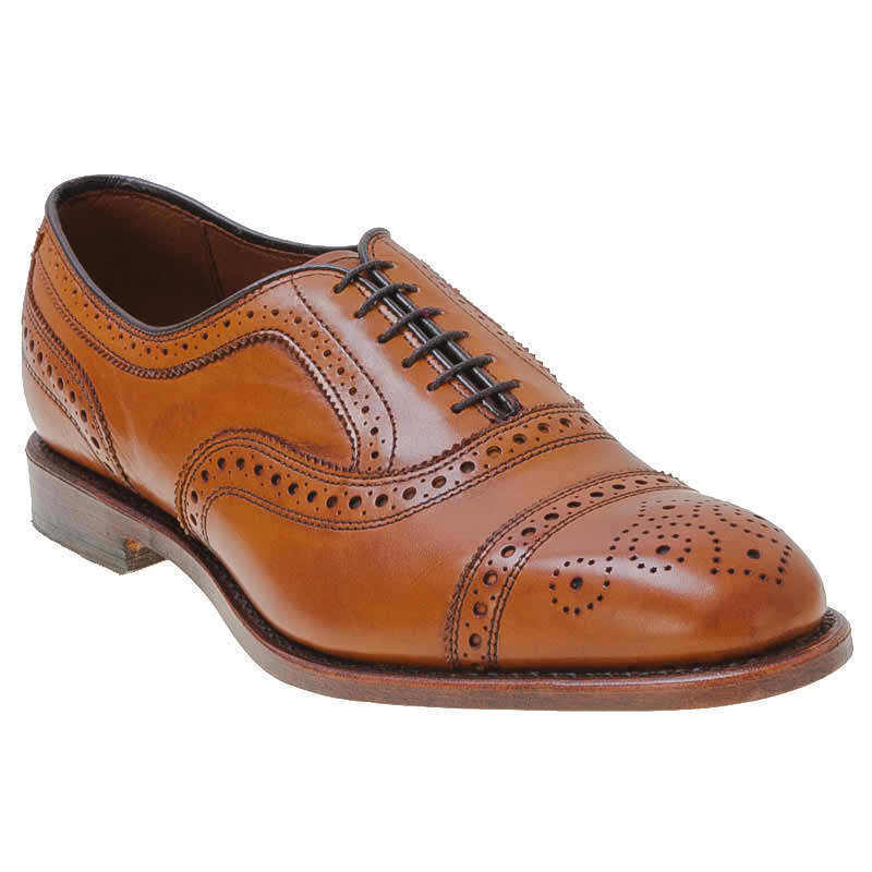 Handmade Mens Brown Color Dress Shoes With Laces Real Leather Sole With Ankle
