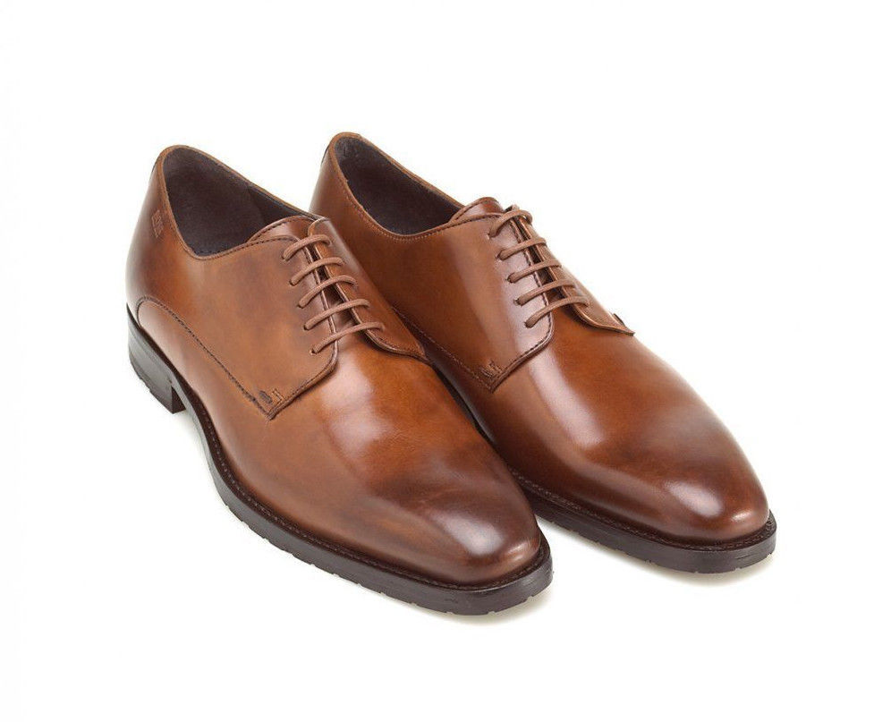 Mens Tan Colored Dress Shoes