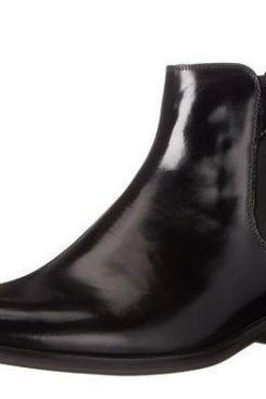 Handmade Mens Black Normal Markin Pure Leather Chelsea Boots For Men