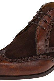 Customized Handmade Dark Brown Color Brogue Suede Leather Chukka Ankle Men's Boots With Lace Up Made To Order