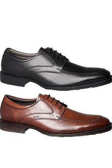 Customized Made To Hand Available In 2 Colors Derby Leather Dress Shoes For Men With Apron Toe And Side Stitchings Made To Order