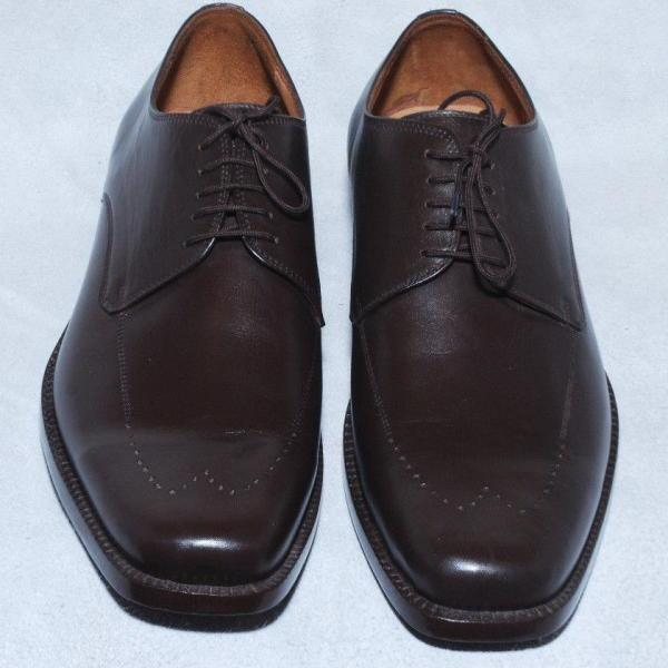 Handmade Mens Brown Color Fashion Pure Leather Formal Dress Oxford Shoes